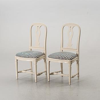 """STOLAR, ett par, """"Hallunda"""", IKEAs 1700-tals serie,"""