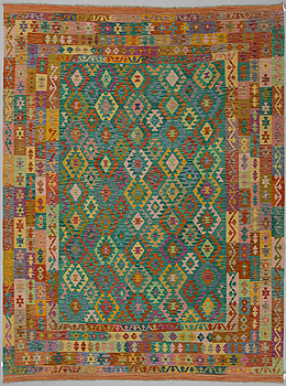 KELIM, Uzbekistan, modern tillverkning, ca 345 x 260 cm.