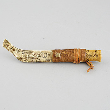 A Sami knive, dated 1913.