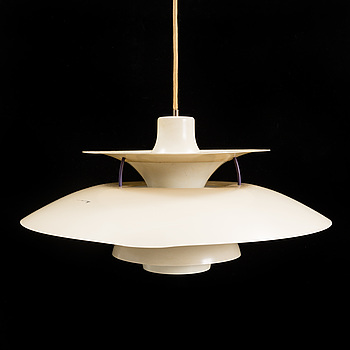 "POUL HENNINGSEN, taklampa ""PH-5"", för Louis Poulsen, Danmark."