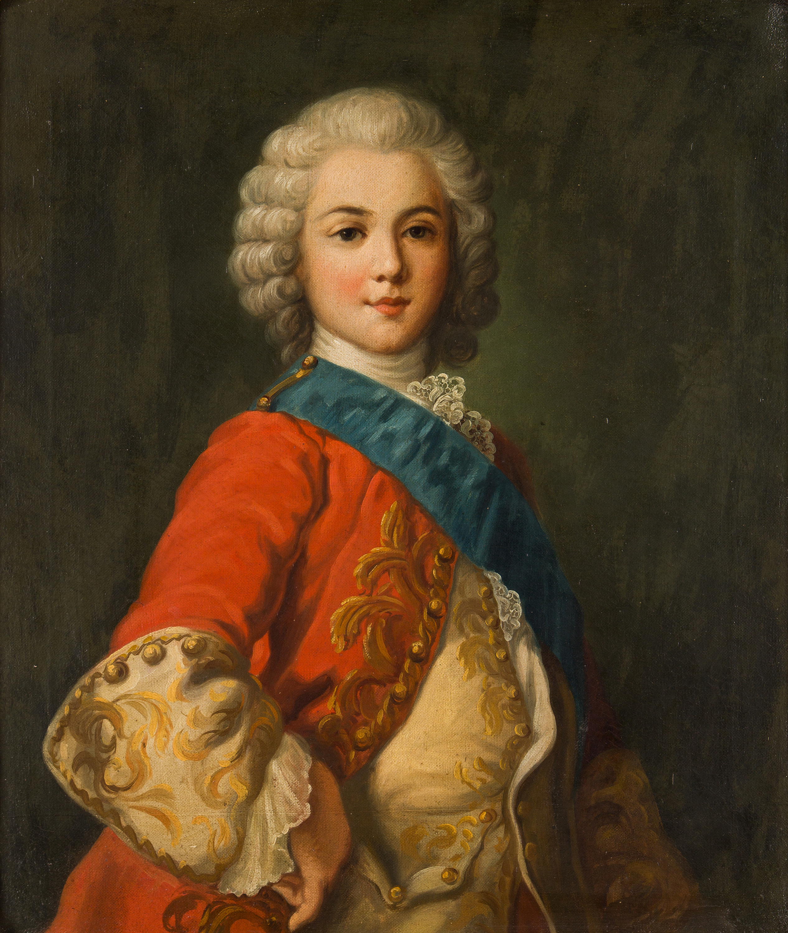 UNKNOWN ARTIST, probably Denmark, oil on canvas, not signed