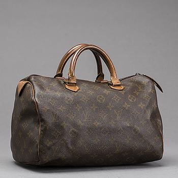"""VÄSKA, """"Speedy 30"""", Louis Vuitton."""