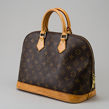 "VÄSKA, ""Alma"", Louis Vuitton."