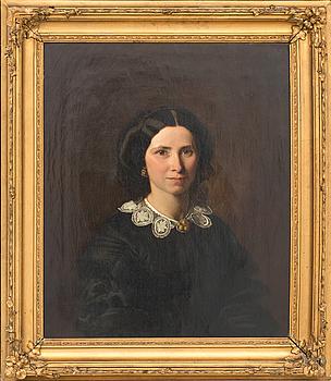 CARL GOTTFRIED EYBE, olja på duk signerad och daterad 1857?.