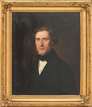 CARL GOTTFRIED EYBE, olja på duk signerad och daterad 1857.