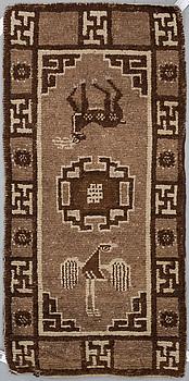 MATTA, semiantik Tibet sannolikt, ca 158 x 78 cm.