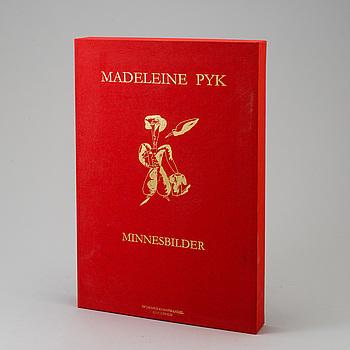 MADELEINE PYK, mapp med 14 färglitografier. Sigenarde och numrerade H.C III/XXV.
