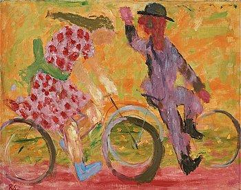 """244. RAGNAR SANDBERG, """"Cyklister""""."""