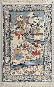 MATTA, Isfahan, old, 160 x 104 cm.