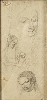 IVAN AGUÉLI, drawing, not signed.