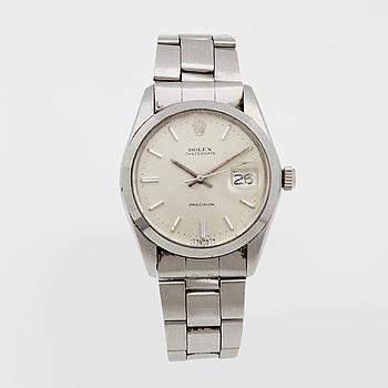 ROLEX, Oysterdate Precision, armbandsur 34,5 mm,
