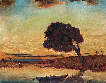 "406. Carl Fredrik Hill, ""Afton"" (""Evening"")."