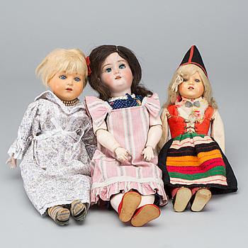 DOCKOR, 3 st Tyskland. bland annat Kley & Hahn, 1900-talets första del .