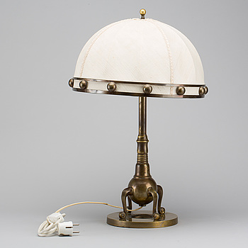 A TABLE LAMP, first half of the 20th century,