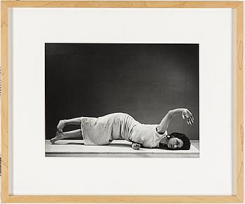 HANS HAMMARSKIÖLD, fotografi, a tergo signerat och daterat 1953.