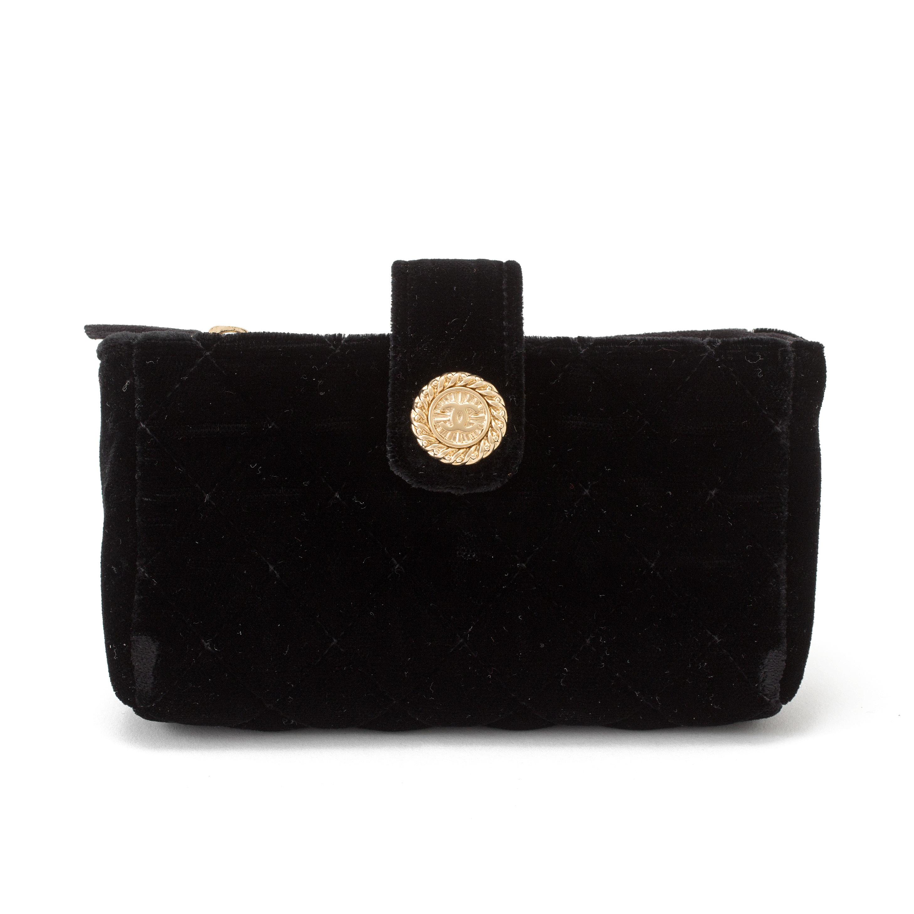A black velvet eveningbag purse by Chanel 2010 2011. - Bukowskis 38dfc9c1fc053