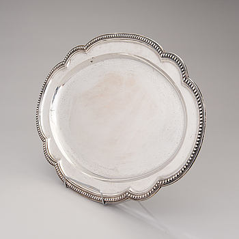 ROBERT HENNELL III BRICKA, sterling silver, London 1867.