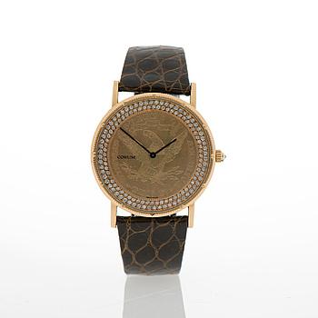 CORUM, Coin watch, armbandsur, 35 mm.