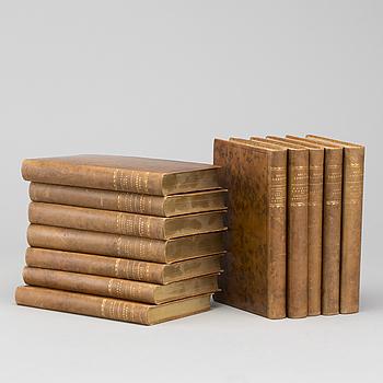 """BÖCKER 12 vol """"Skrifter av Selma Lagerlöf"""" Albert Bonniers förlag Stockholm 1935."""