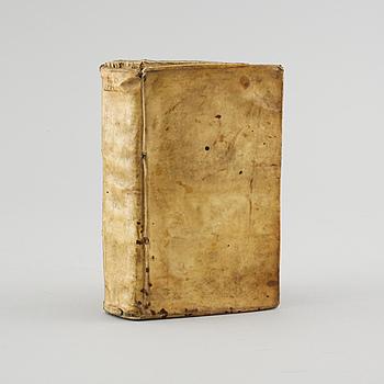 """BOK, lexikon Johannes Gezelius, """"D. Ep. Ab. Lexicon græco-latinum continens voces omnes appellativas..."""", tryckt 1686."""