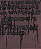 Bjarne melgaard, bjarne melgaard, oil on canvas, executed in 2006-2007.