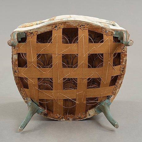 A rococo 18th century bergere