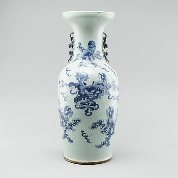 GOLVURNA, porslin, sen Qing, Kina, 1800-tal.