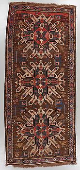 MATTA, s k Eagle Kazak, semiantik/antik, 285 x 132 cm.