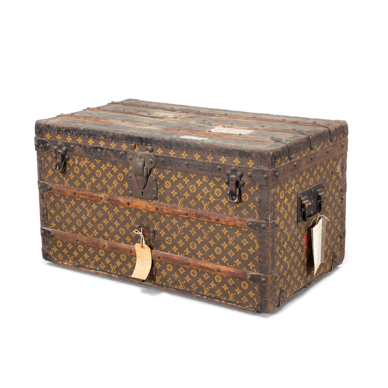 Veldig Auktionstipset - KOFFERT Louis Vuitton, sekelskiftet 1800/1900. OH-89