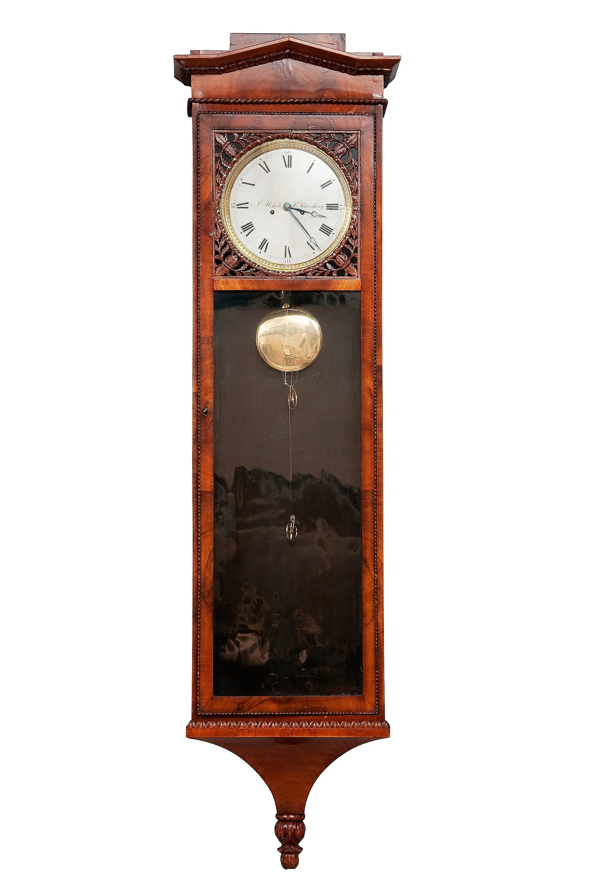 A russian wall clock n wehrle st petersburg first half of the 10419771 bukobject amipublicfo Images