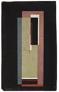 238. GÖSTA ADRIAN-NILSSON, Plangeometrisk komposition.