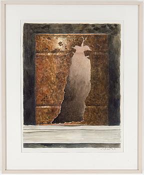 PHILIP VON SCHANTZ, akvarell, signerad och daterad -86.