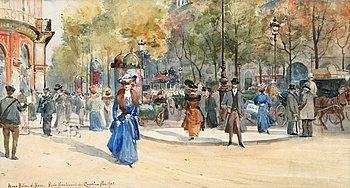 """9. ANNA PALM DE ROSA, """"Boulevard des Capucines""""."""