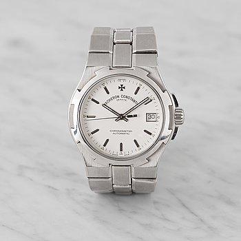 VACHERON CONSTANTIN, Genève, Overseas, Chronometer, armbandsur, 37 mm,