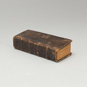 "BOK, ""Sweriges landz -och stadz -lagh"", Stockholm, Keyser, 1692."