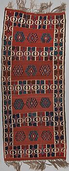 KELIM, Antik Anatol, ca 349 x 145 cm.