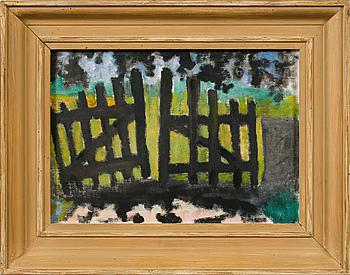 RAGNAR SANDBERG, oil on canvas, unsigned.