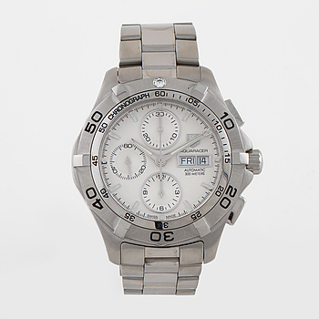 TAG HEUER, Aquaracer, armbandsur, kronograf, 43 mm,