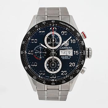 "TAG HEUER, Carrera Day Date, ""Tachymetre"", kronograf, armbandsur, 44 mm,"