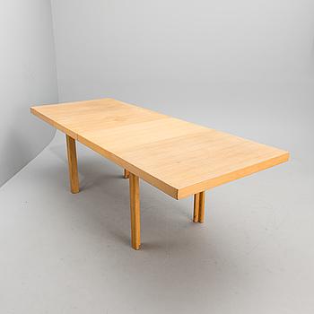 ALVAR AALTO, A MID CENTURY EXTENSION TABLE H92 by Artek.