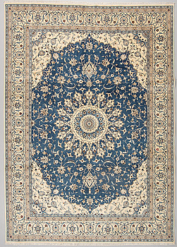 MATTA, Nain, part silk, 9 LAA, ca 350 x 257 cm.