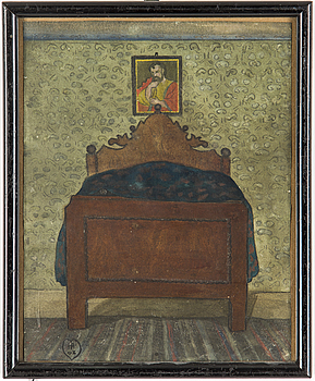 IVAR AROSENIUS, akvarell, monogramsignerad och daterad 03.