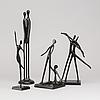 4 sculptures design bodrul khalique.