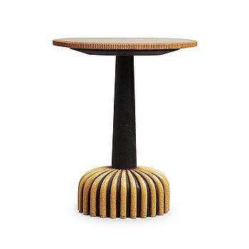 """135. AXEL EINAR HJORTH, bord """"Mora"""", Nordiska Kompaniet 1930, beställare Stockholmsutställningen 1930."""