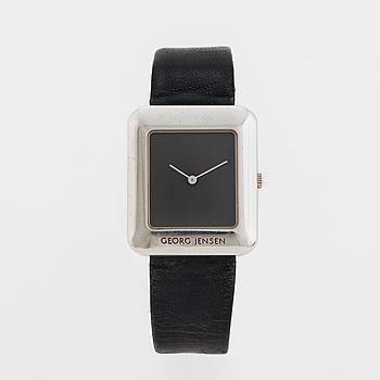 GEORG JENSEN, designad av Lene Munthe, armbandsur, 29 x 34 mm,