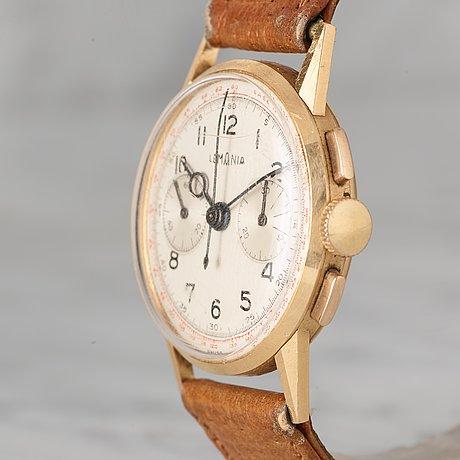 "Lemania, ""base 1000"", chronograph, wristwatch, 32,5 mm,"
