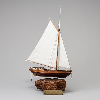 MODELLSKEPP, Sumpbåt, 1900-talets mitt.