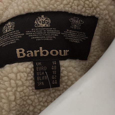 Barbour jacka storlekar
