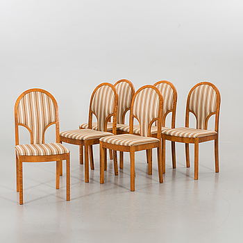 SIX ASKO CHAIRS.