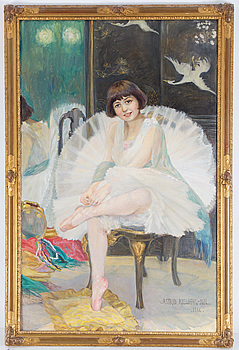ASTRID KJELLBERG-JUEL, ASTRID KJELLBERG-JUEL, oil on canvas, signed and dated 1916.